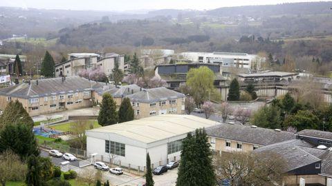 Vista de parte de los edificios del Campus, con Veterinaria y la Politécnica