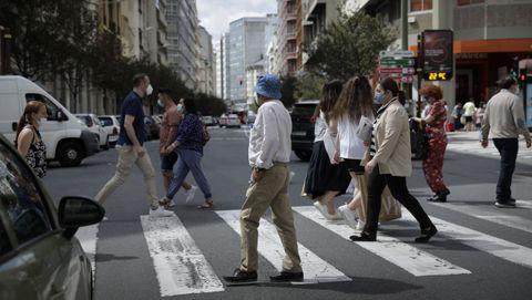 Calle Juan Flórez en A Coruña