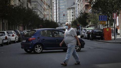 Calle Juan Flórez de A Coruña