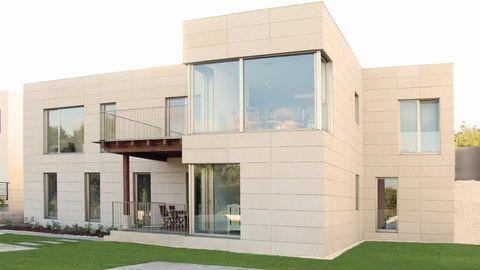 Casa Alush, en Santiago, la primera con certificación del Passivhaus Institut alemán en Galicia