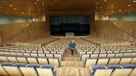 El nuevo auditorio tendrá una sala principal con aforo para 900 personas