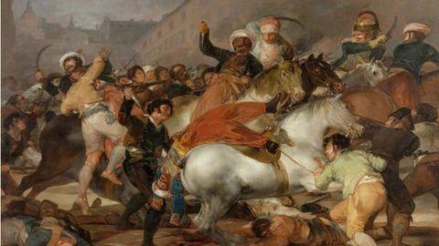 Carga de los mamelucos, Goya
