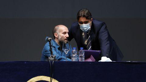 Gonzalo Pérez Jácome junto a Jorge Pumar