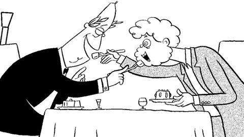 Así vio Siro el histórico almuerzo secreto entre Fraga y Beiras