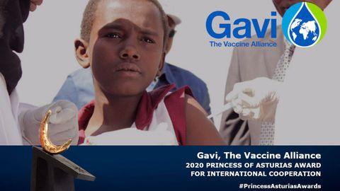 La Alianza Mundial para la Vacunación gana el Premio Princesa de Cooperación