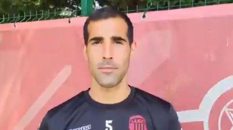 El capitán del Lugo, Pita, agradece en un video en las redes sociales el apoyo que reciben de los aficionados y excompañeros del club