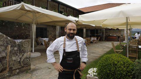 Marco Varela, jefe de cocina del restaurante Sábrego