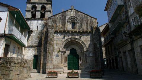 Igleisa románica de Santiago,en Allariz