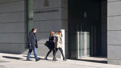 Pablo Iglesias, en 2016, a su llegada a la Audiencia Nacional donde fue citado en calidad de testigo
