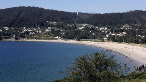 Praia de Area, en Viveiro