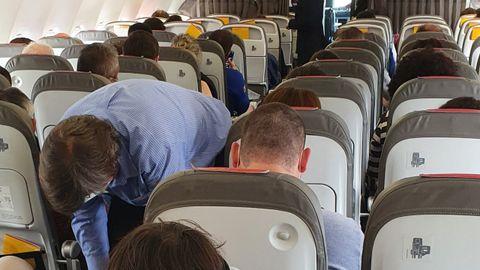 Pasajeros en el vuelo de A Coruña a Madrid en el que iba Deborah García