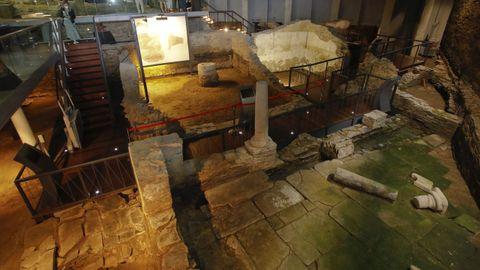 A Domus do Mitreo tambien se puede visitar los domingos