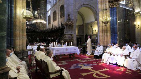 La ceremonia se ofició en la Catedral de Lugo