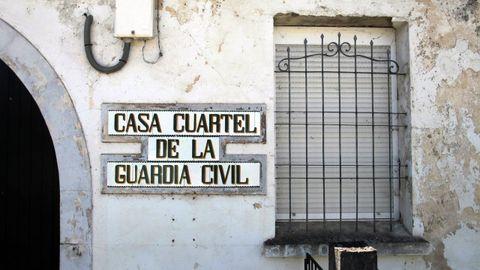 El cuartel de la Guardia Civil en A Pobra lleva cerrrado aproximadamente cinco años