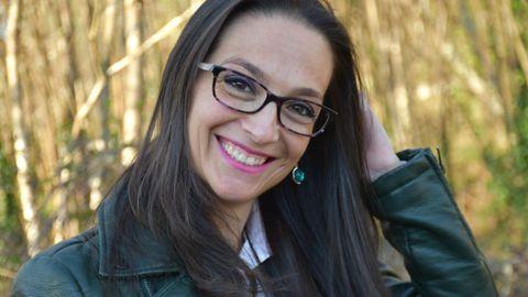 A escritora María Canosa