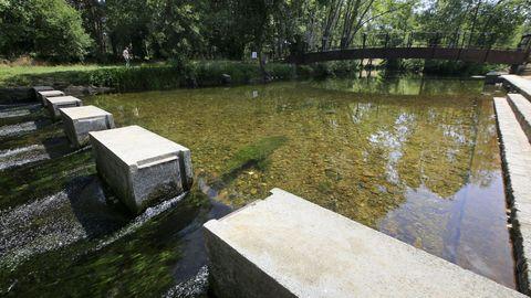 El área fluvial de Láncara está cerrada al público