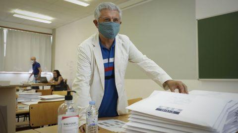 Pedro Armas, vicepresidente de la CIUG, está muy satisfecho de cómo ha salido la organización de la prueba