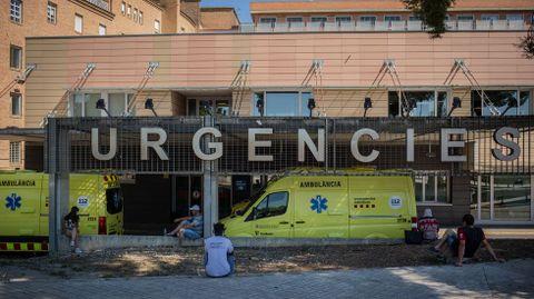 Urgencias de un hospital de la comarca del Segrià, en Lérida