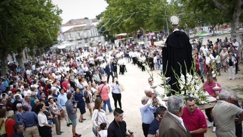 Imagen de la procesión de San Bieito en Allariz