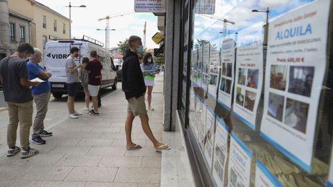 Anuncios de viviendas en alquiler en Santiago