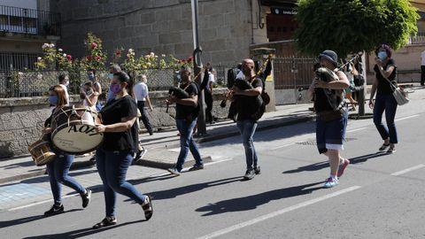 La música acompañó durante el desfile