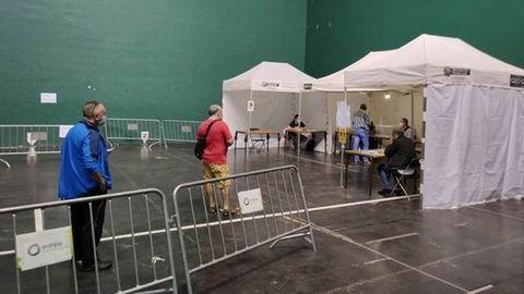 Votación en el ayuntamiento de Ordicia, (Guipuzcoa)