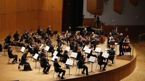 Imagen de archivo de un concierto de la Orquesta Sinfónica de Galicia