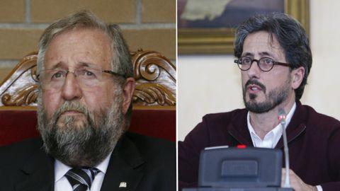 Orozco (PSOE) y Portomeñe (EU) mantuvieron serias discrepancias cuando estaban en la vida política y ahora las mantienen en el juzgado