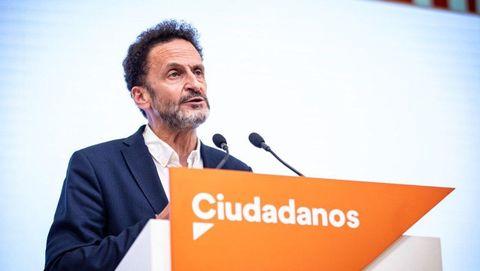 El portavoz adjunto de Ciudadanos en el Congreso, Edmundo Bal