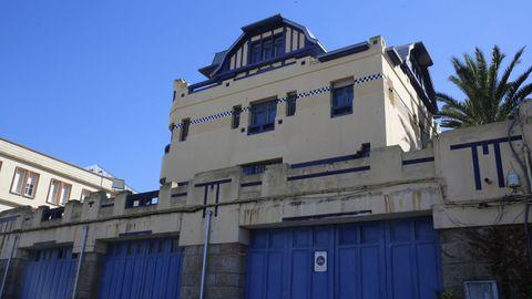 Villa Molina es uno de los chalés que González Villar proyecto en A Coruña, este está en Ciudad Jardín