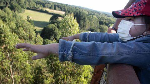 Los niños disfrutan especialmente de la experiencia del vuelo