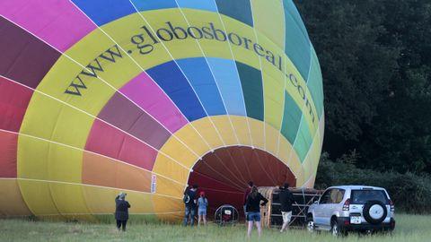 Globos Boreal es una de las dos empresas que operan este año en la zona