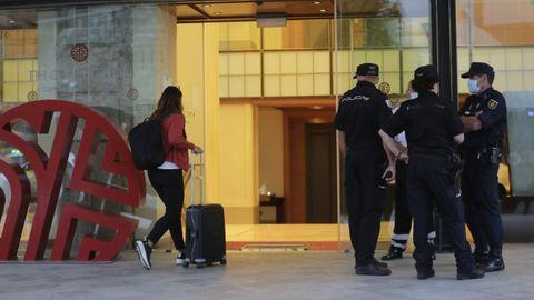 Hotel donde está alojado el Fuenlabrada