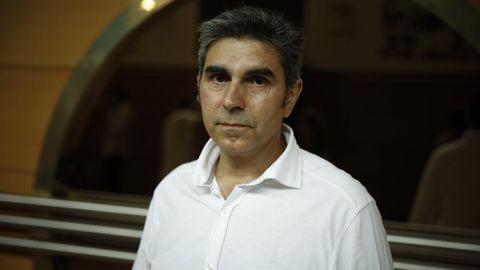 Jose Antonio Gayoso, herido en el accidente de Angrois y miembro de la plataforma de afectados.