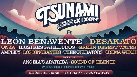 Cartel del Tsunami Xixón de 2020