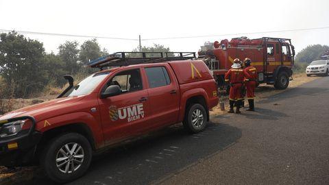El incendio se declaró a las cinco de la tarde del viernes
