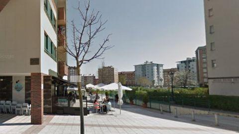La terraza de la cervecería Urban's, en La Corredoria