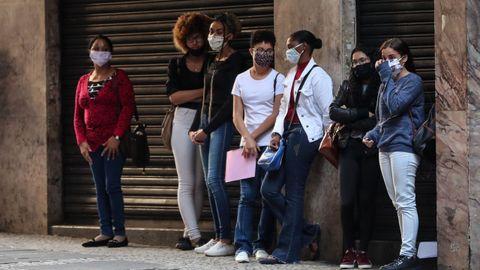 Brasil roza ya las 90.000 muertes por el coronavirus.Brasil roza ya las 90.000 muertes por el coronavirus