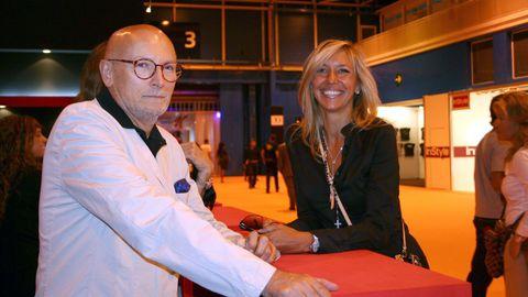 En el 2005 con Marta Robles