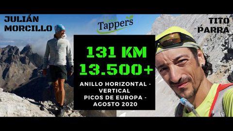 Reto de Tito Parra y Julián Morcillo en Picos de Europa