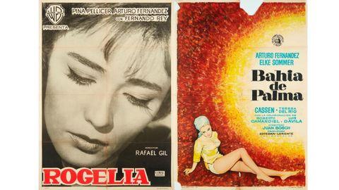 Carteles de «Rogelia» (1962) y «Bahía de Palma» (1962)