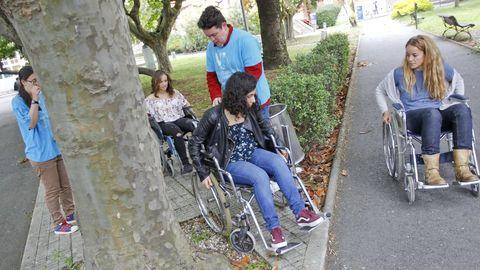 En la imagen, una campaña de sensibilización llevada a cabo por la ASCM en el campus