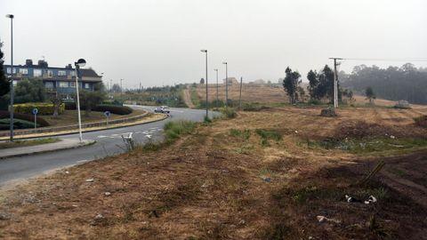 Zapateira I. Será la promoción más extensa, con 43.500 metros para vivienda. Estará ubicada entre la rotonda de los olivos y la urbanización O Carón.