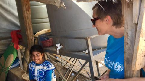 La asturiana Raquel Fernández, jefa de Comunicación y Alianzas Privadas de la misión de Unicef en el Líbano