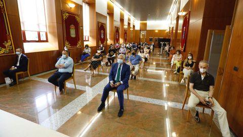 La sesión constitutiva ha seguido todas las recomendaciones sanitarias para evitar contagios.