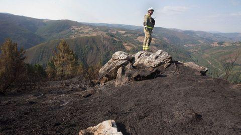 Controlado un incendio en Son, en Navia de Suarna