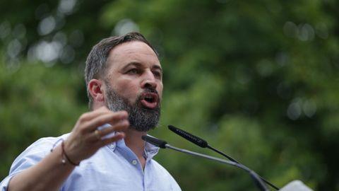 Santiago Abascal, líder de Vox, en una imagen de archivo