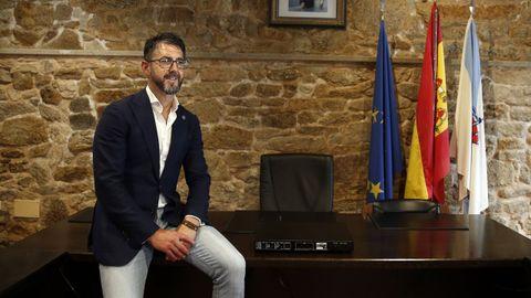 Luis Oujo, alcalde de Porto do Son