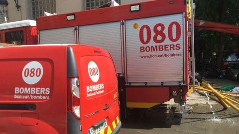 Vehículos de los Bomberos de la Generalitat, en una imagen de archivo