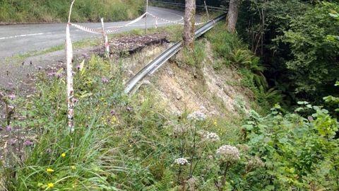 Una carretera de Llanes
